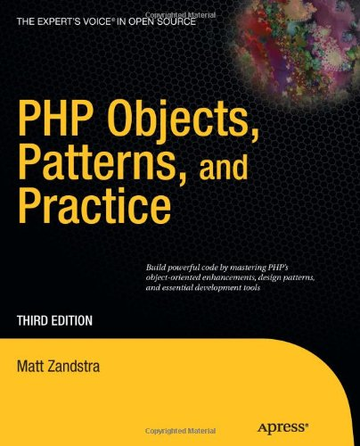 PHP Objects, Patterns, and Practice 9781430229254