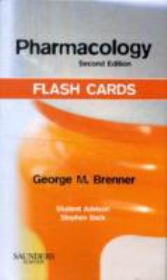 Pharmacology Flash Cards 9781437703115