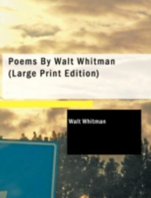 Poems by Walt Whitman 9781437515138