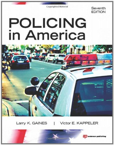 Policing in America 9781437734881