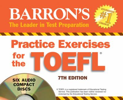 Practice Exercises for the TOEFL 9781438070322
