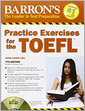 Barron's Practice Exercises for the TOEFL [With 6 CDs] 9781438070339