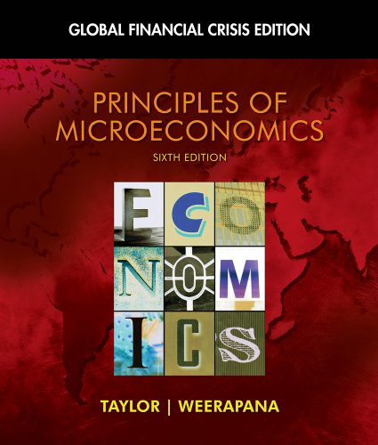 Principles of Microeconomics: Global Financial Crisis Edition [With Access Code] 9781439078211