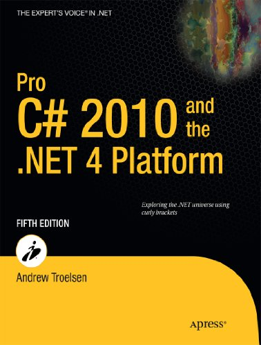 Pro C# 2010 and the .Net 4 Platform 9781430225492