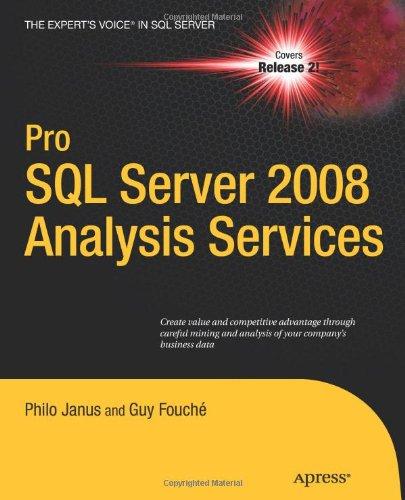 Pro SQL Server 2008 Analysis Services 9781430219958
