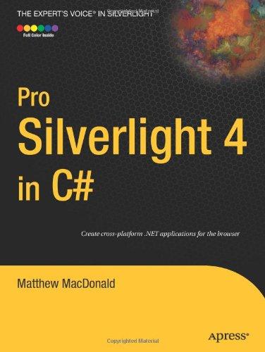 Pro Silverlight 4 in C# 9781430229797