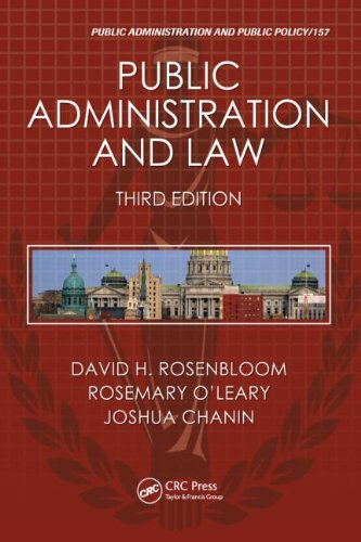 Public Administration and Law 9781439803981