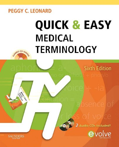 Quick & Easy Medical Terminology [With 2 CDs] 9781437708387