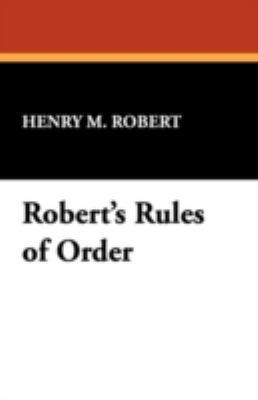 Robert's Rules of Order 9781434475466