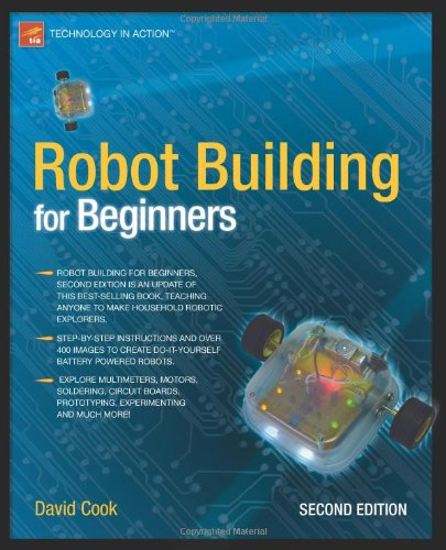 Robot Building for Beginners 9781430227489