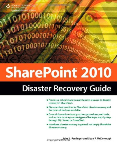 Sharepoint 2010 Disaster Recovery Guide 9781435456457