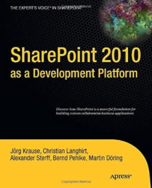 SharePoint 2010 as a Development Platform 9781430227069