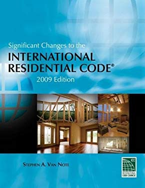 Significant Changes to the International Residential Code 9781435401228