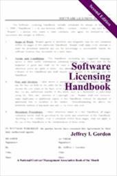 Software Licensing Handbook, Second Edition
