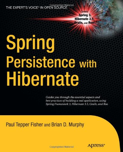 Spring Persistence with Hibernate 9781430226321