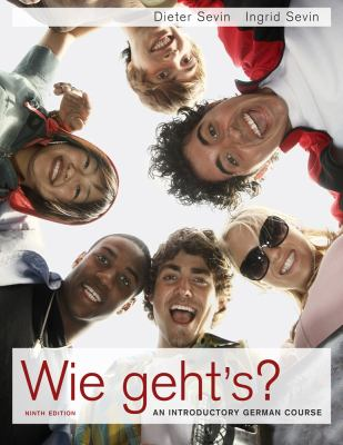 Wie Geht's?: An Introductory German Course: Student Activities Manual 9781439084007