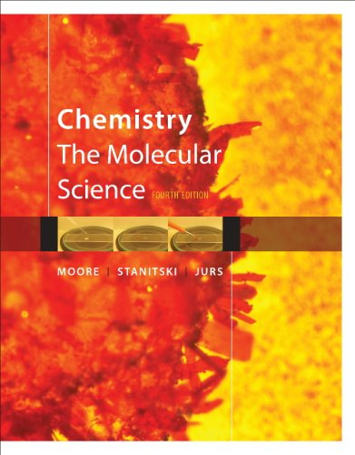 Chemistry: The Molecular Science 9781439049648