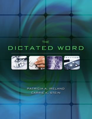 The Dictated Word [With 2 CDROMs] 9781435420205