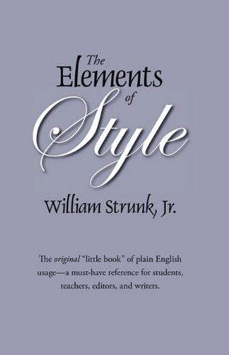 The Elements of Style: The Original Edition 9781434102812