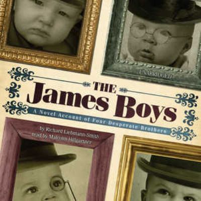 The James Boys: A Novel Account of Four Desperate Brothers 9781433215384