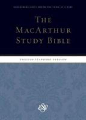 MacArthur Study Bible-ESV 9781433504006