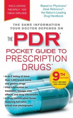 The PDR Pocket Guide to Prescription Drugs 9781439143087