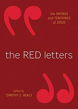 The Red Letters: The Sayings and Teachings of Jesus 9781433501401
