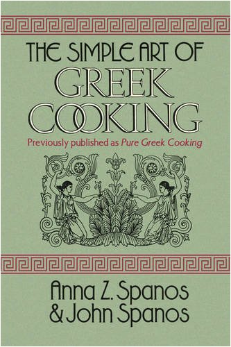 The Simple Art of Greek Cooking 9781436362528