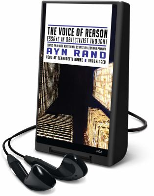 The Voice of Reason: Essays in Objectivist Thought [With Earbuds] 9781433277023