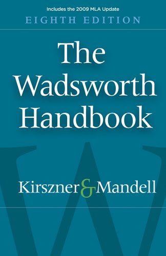 The Wadsworth Handbook 9781439081822