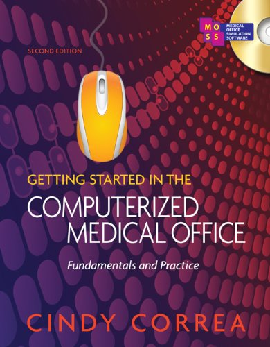 Workbook for Correa's Getting Started in the Computerized Medical Office 9781435438514
