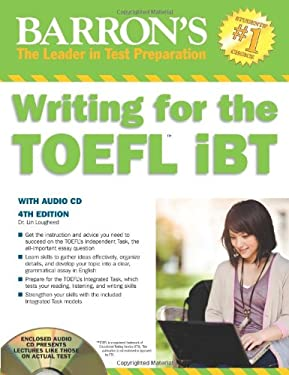 Writing for the TOEFL iBT [With CDROM] 9781438070896