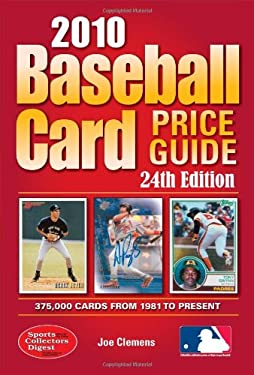 Baseball Card Price Guide 9781440213366
