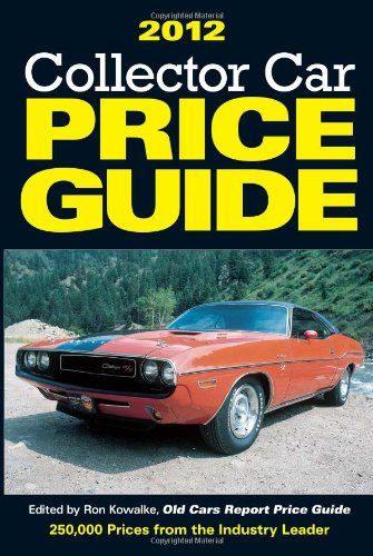 2012 Collector Car Price Guide 9781440223778