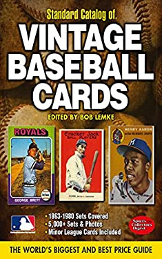 Standard Catalog of Vintage Baseball Cards 9781440223785