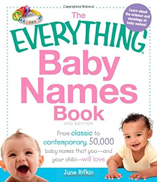 The Everything Baby Names Book 9781440527036