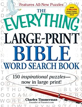 The Everything Large-Print Bible Word Search Book 9781440530715