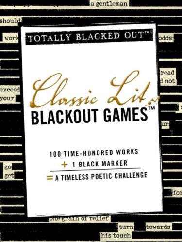 Classic Lit Blackout Games 9781440532597