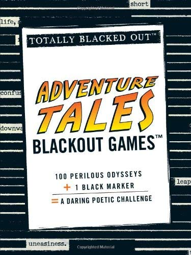 Adventure Tales Blackout Games 9781440532757