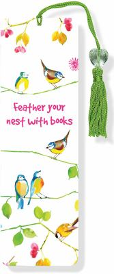 Watercolor Birds Beaded Bookmark 9781441305329