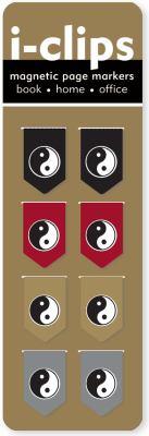 Yin Yang I-Clip Page Markers 9781441306463