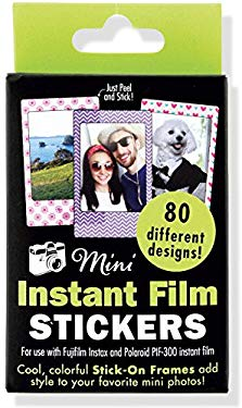 Instant Film Photo Frames for Fuji Instax Mini (80 Designs!)