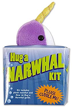 Hug a Narwhal Kit (book with plush)
