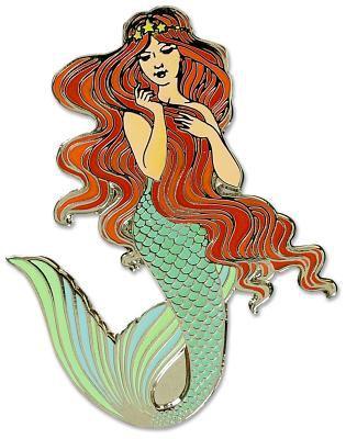 Mermaid - Hard Enamel Pin (Cloisonne Pin)