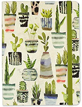 Watercolor Succulents Journal (Diary, Notebook)