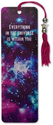 Galaxy Beaded Bookmark