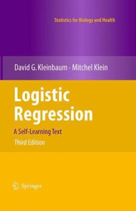 Logistic Regression: A Self-Learning Text 9781441917416