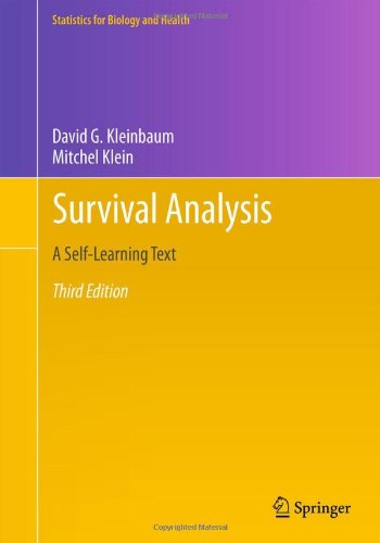 Survival Analysis: A Self-Learning Text 9781441966452