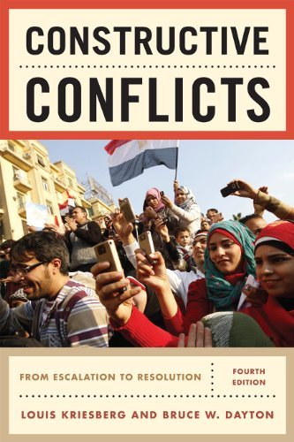 Constructive Conflicts: From Escalation to Resolution 9781442206847