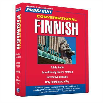 Finnish, Conversational: Learn to Speak and Understand with Pimsleur Language Programs 9781442346727
